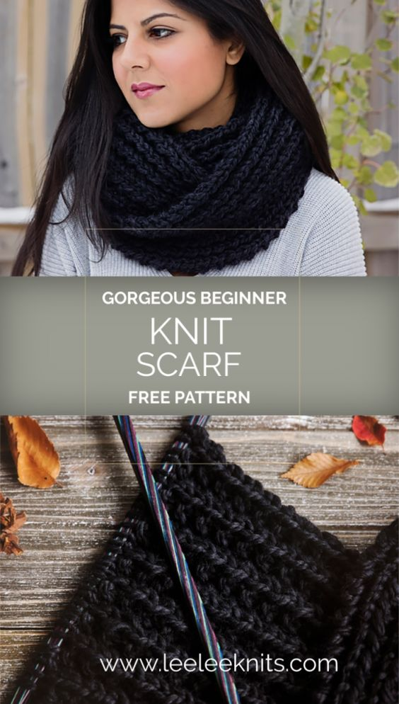 The Ultimate Knitted Cowl