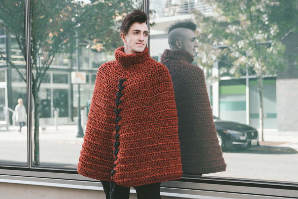 Vincent Cloak Crochet Pattern