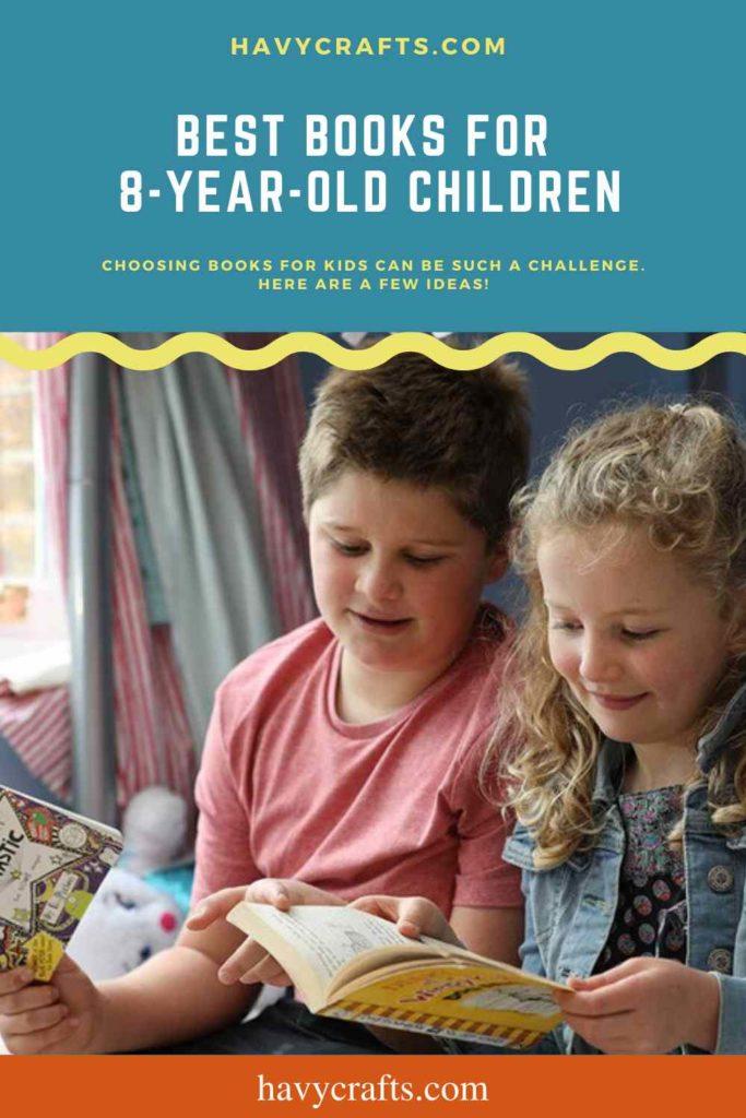 Best books  for 8 year old children
