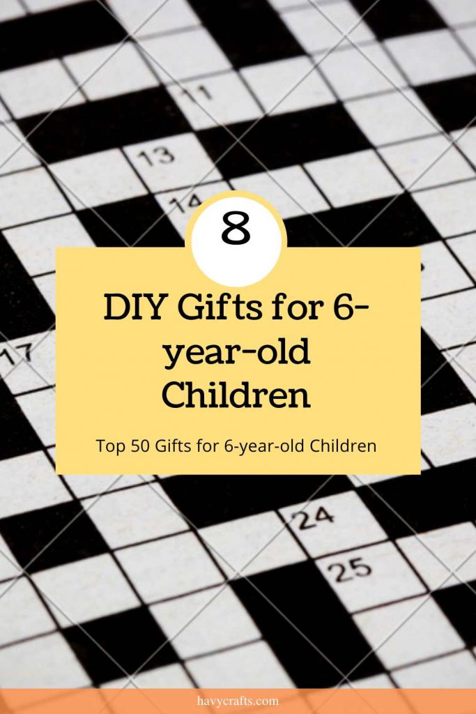 DIY gifts for 6 year old