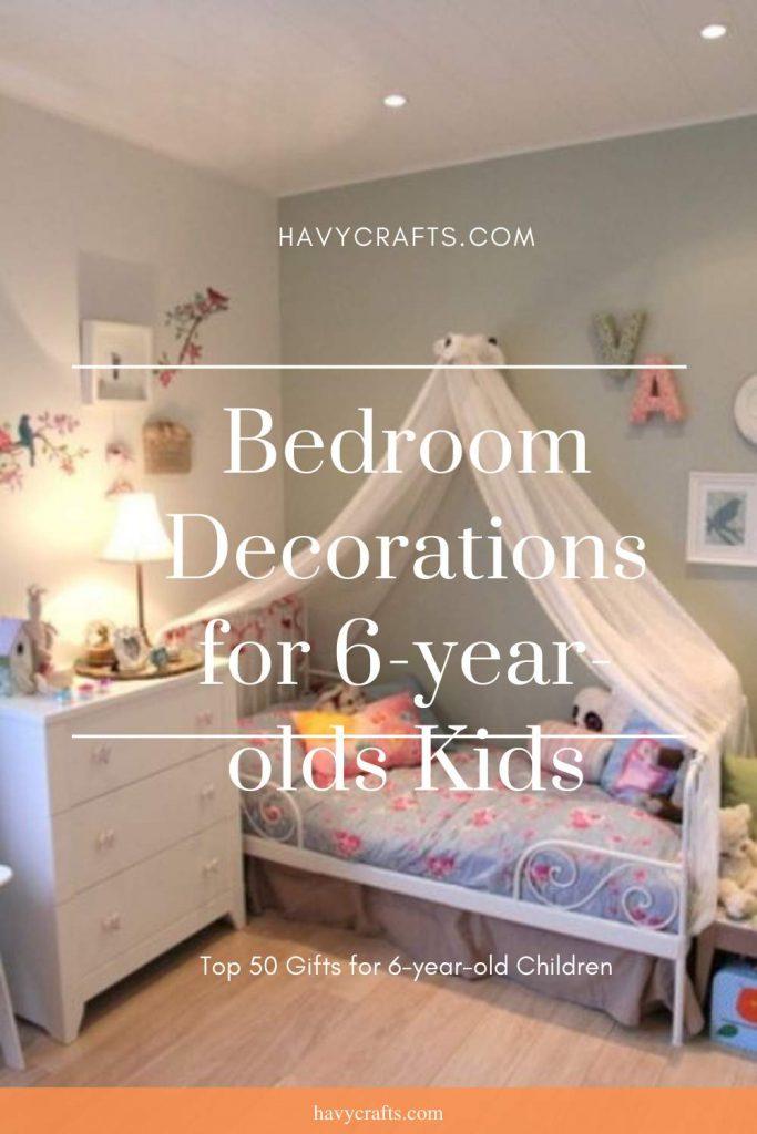 Bedroom decoration for kids
