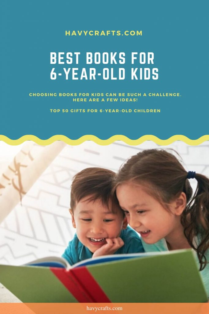 best books for 6 year old kids