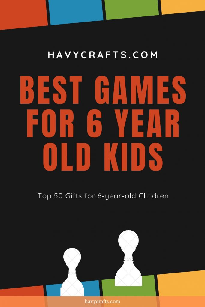 Best games for 6 year old kids