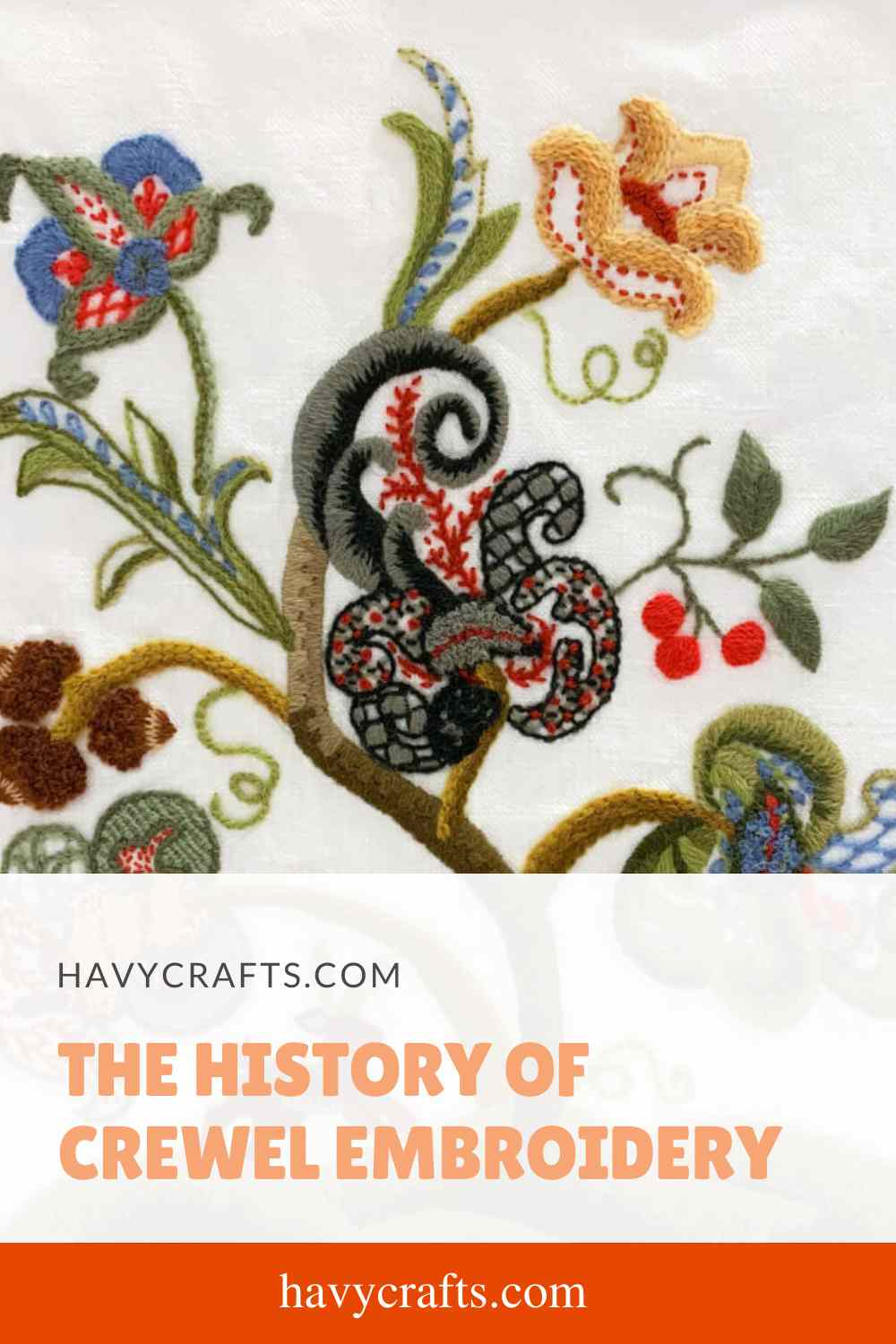 History of Crewel Embroidery