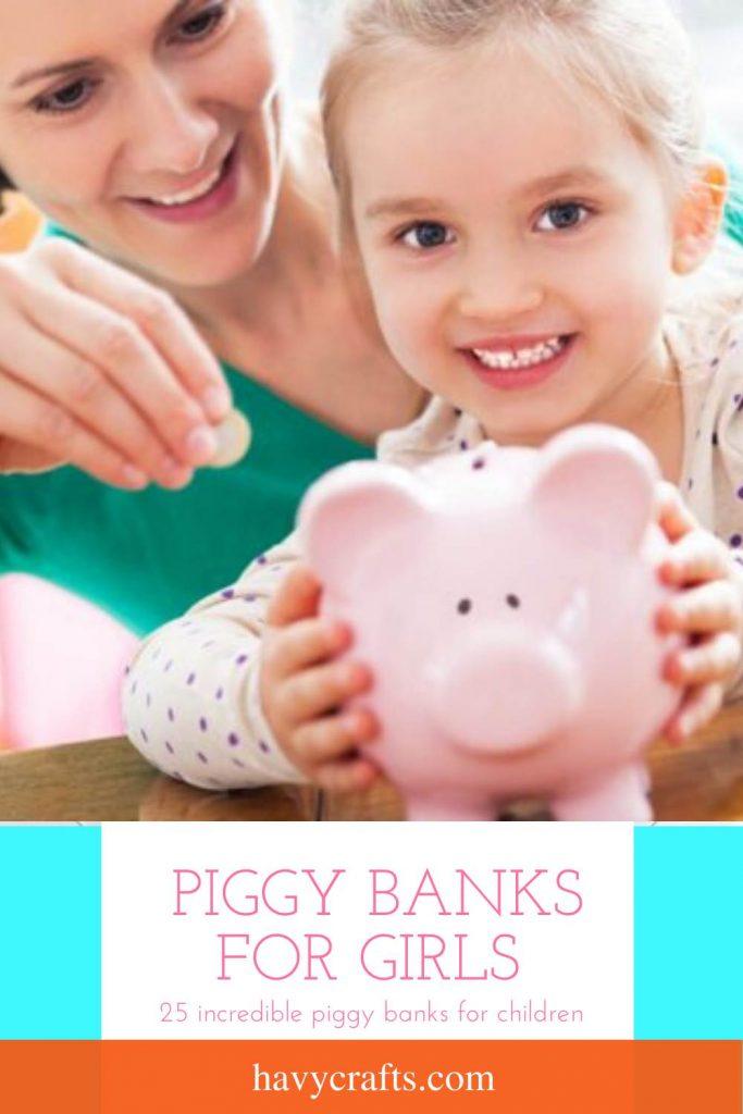 Best piggy banks for girls