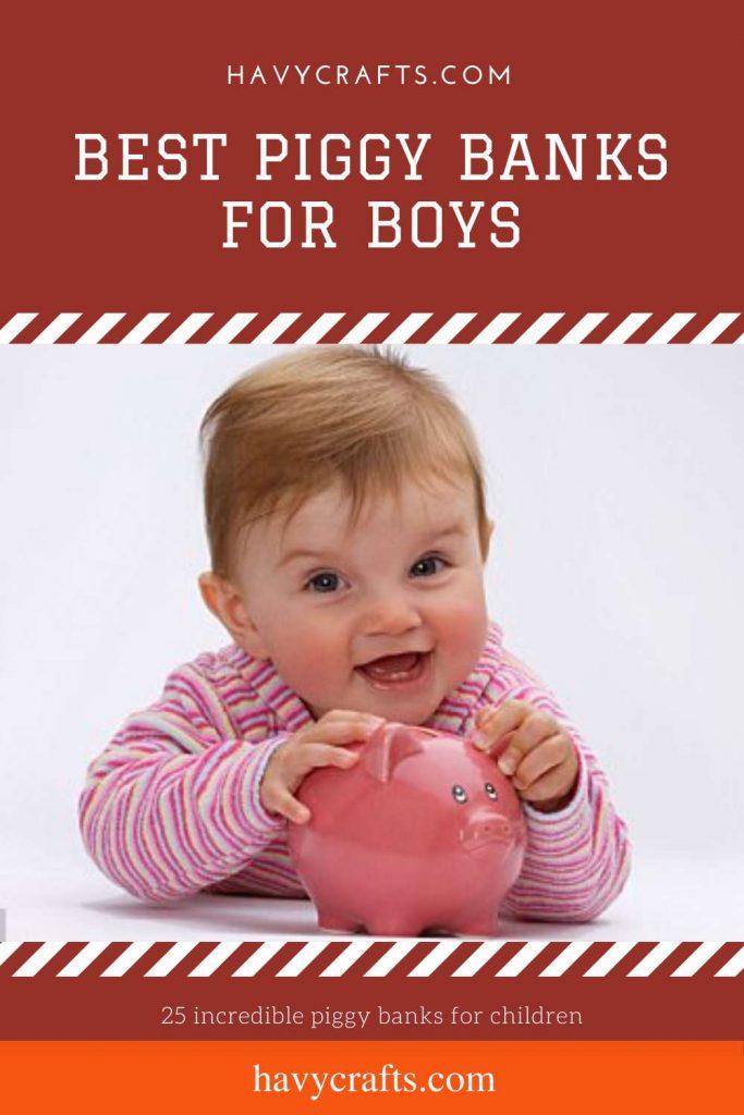 Best piggy bank for boys
