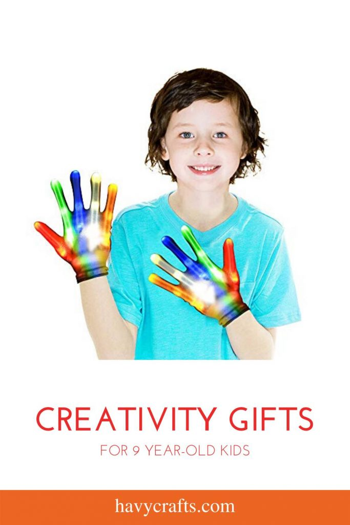 Creativity gifts for 9 year old