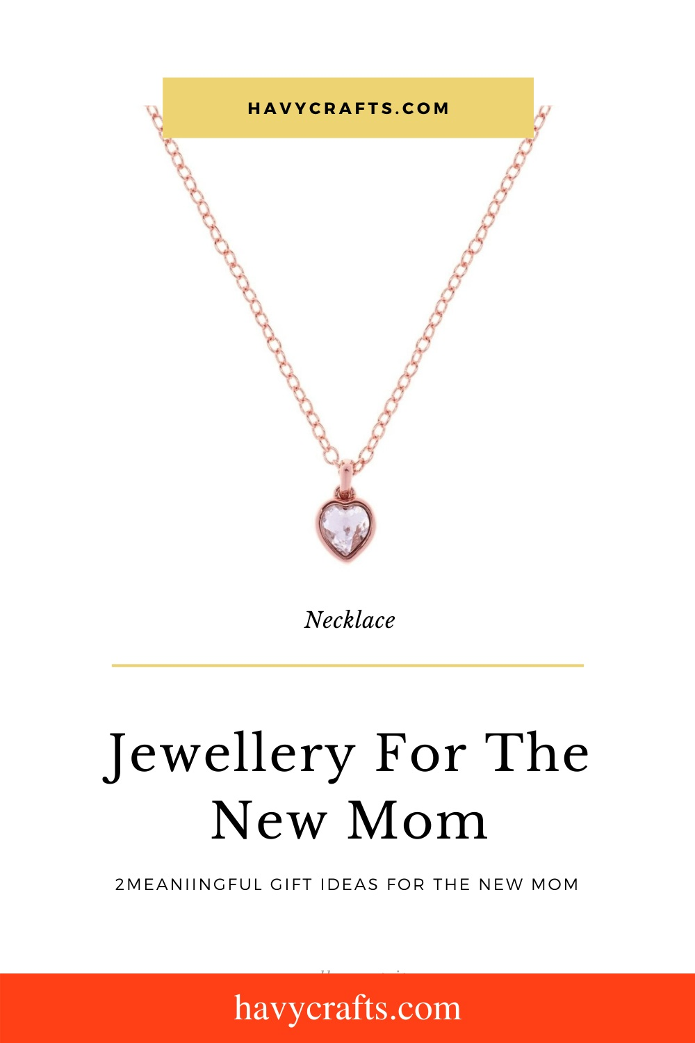 Jewellery for new moms