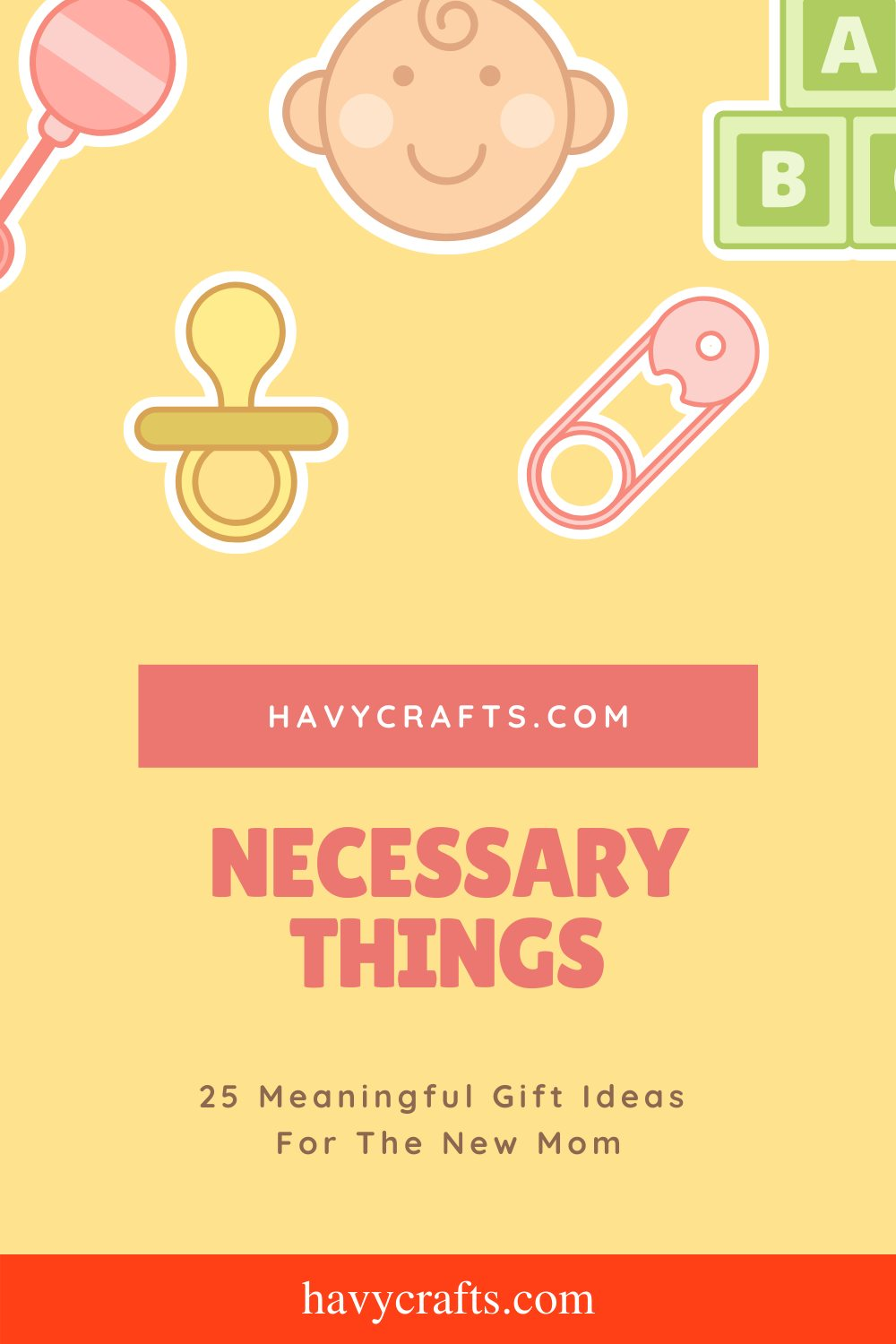 Necessary things for new moms