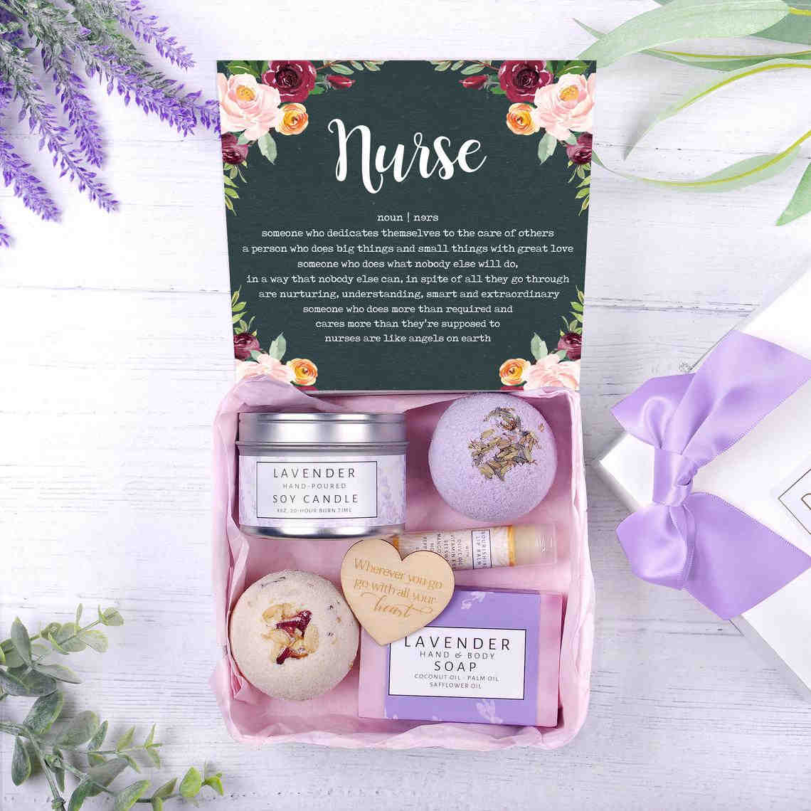 Spa gift set to take care of nurses