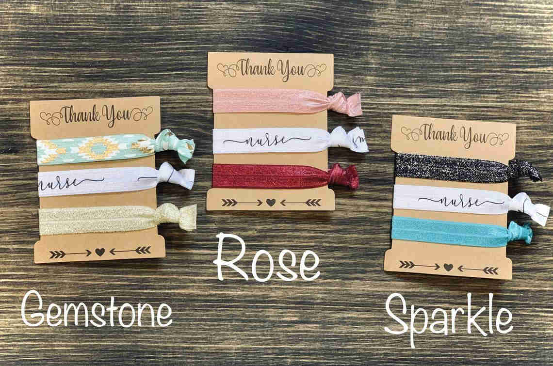 hair ties gift for nurses