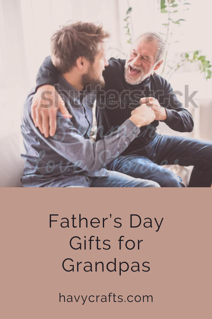 Great gifts for grandpas on Father's day