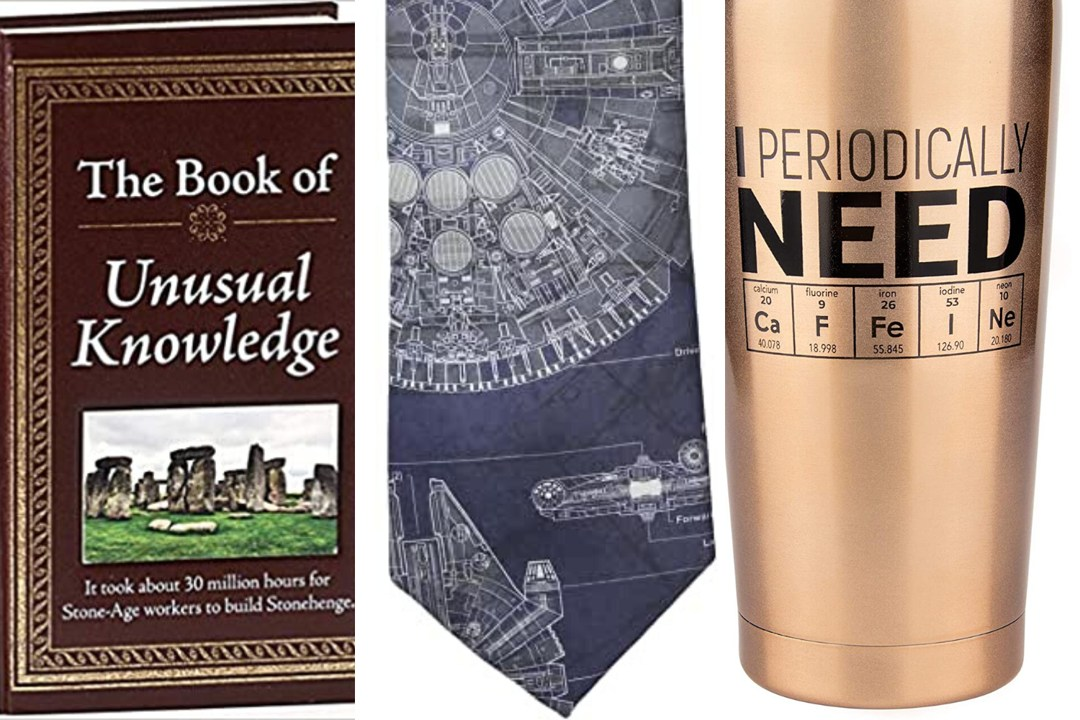 Funny gifts for science nerds
