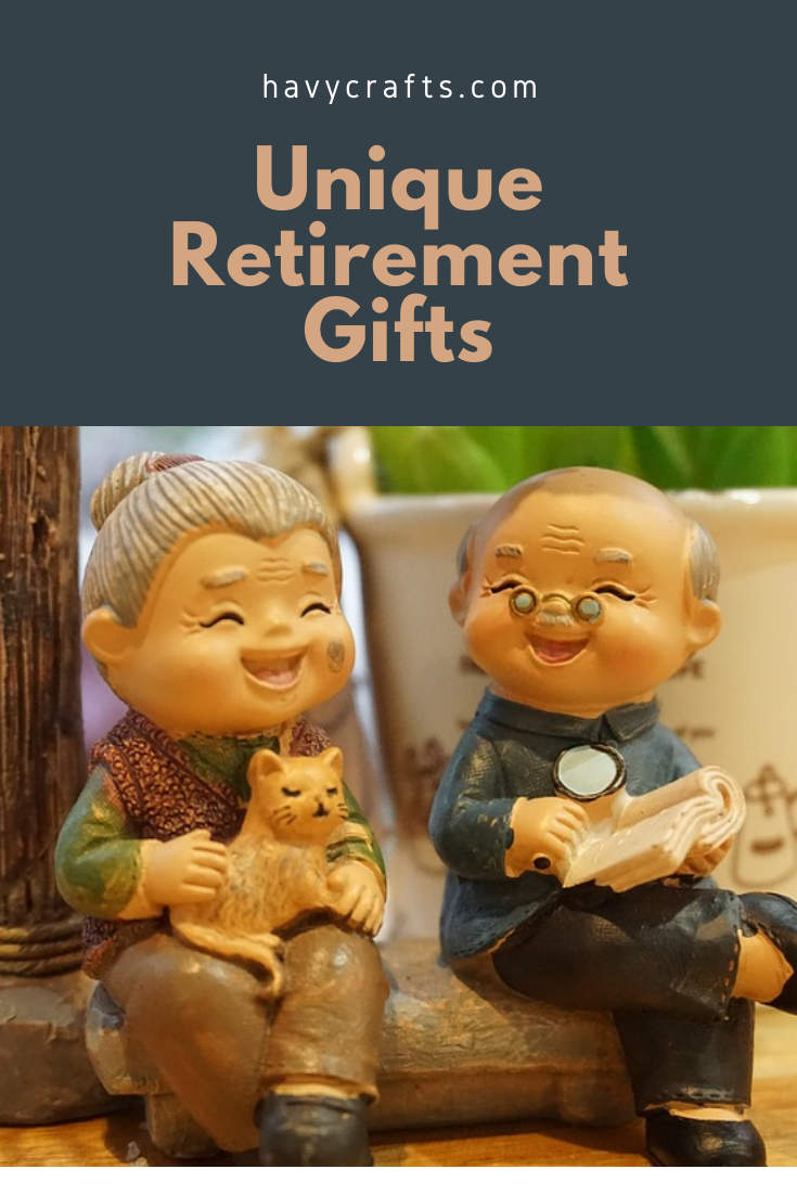 retirement gifts for a unique personality