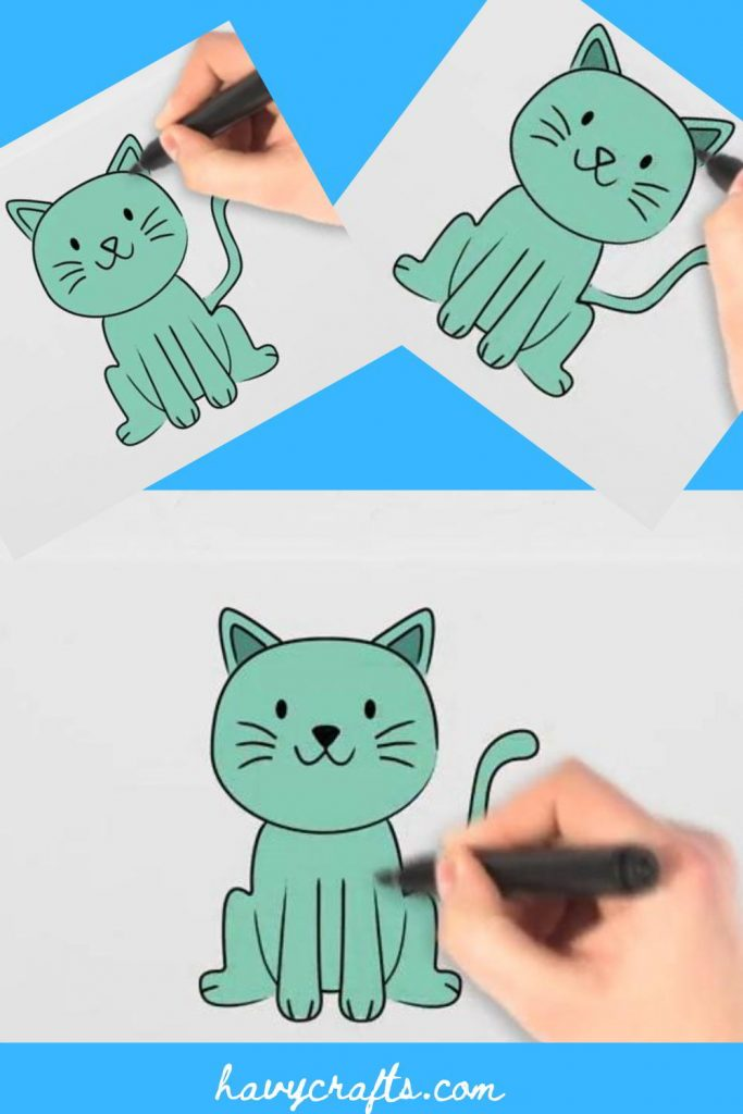 Paint a pretty cat