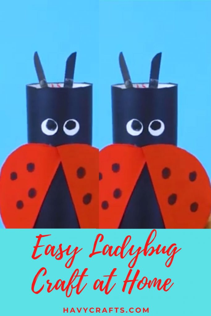 Make an easy ladybug craft