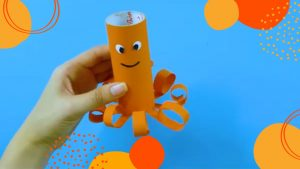 feature of Octopus paper craft
