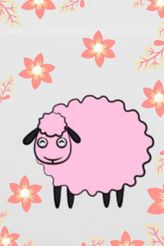 Finish the cute sheep