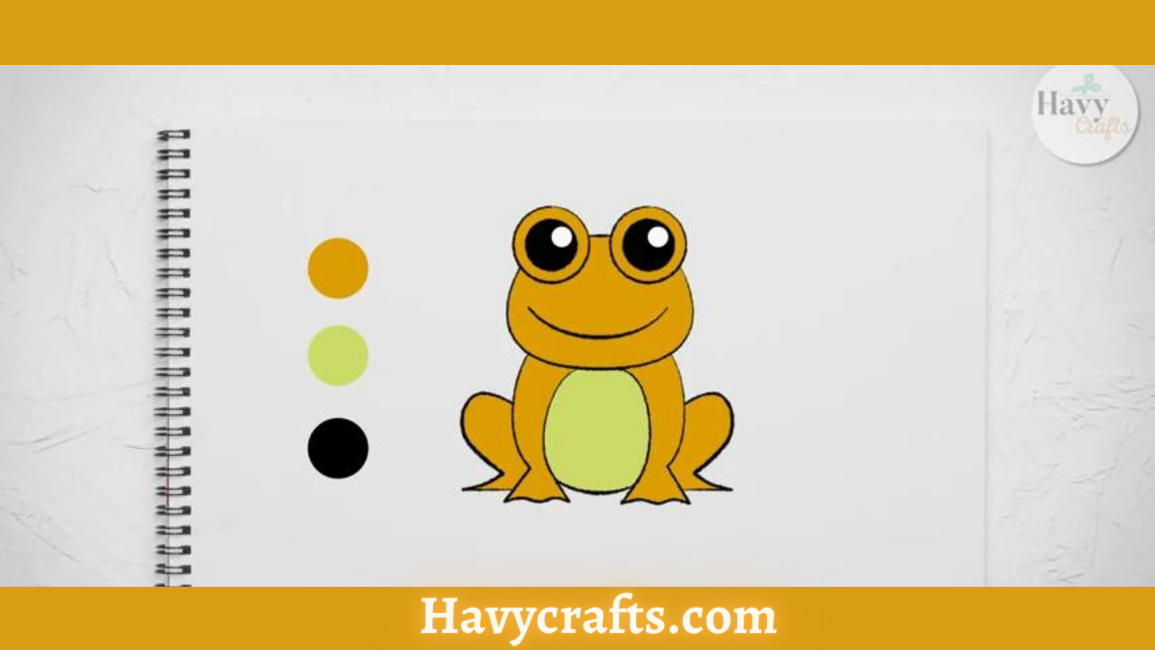 Feature of the frog drawing