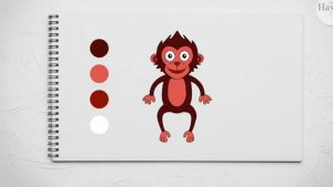 feature of how to draw a monkey
